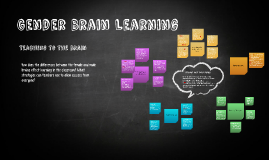 Copy of Copy of Gender Brain Learning