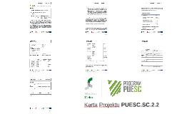 Karta Projektu PUESC.SC