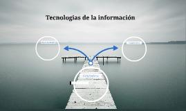Tecnologiaas de la información