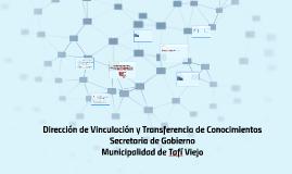 Dirección de Vinculación y Transferencia de Conocimientos -