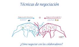 Negociación con los colaboradores