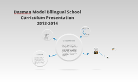 Dasman Model Bilingual School Curriculum Presentation