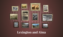 Lexington and Alma