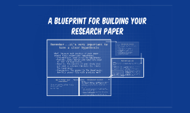 A blueprint for your research paper by michele oliver on prezi malvernweather