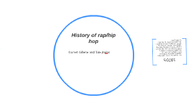 History of rap/hip hop