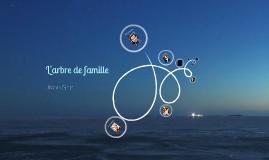 L'arbre de famille