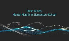Mental Health in Elementary School