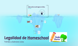 Educación en el hogar en Chile.