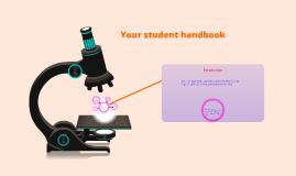 Your student handbook