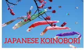 JAPANESE KOINOBORI