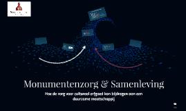 Monumentenzorg & Samenleving