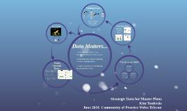 Strategic Data for Master Planning