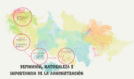 Copy of DEFINICIÓN, NATURALEZA E IMPORTANCIA DE LA ADMINISTRACIÓN