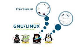 Linux 101 Week 3