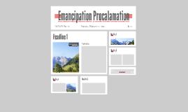 Emancipation Procalamation