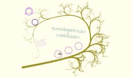 Transcendentalism & Impressionism