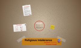 Religious Intolerance