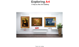 Prezi Presentation: Art Gallery