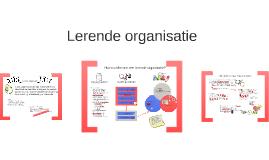 Lerende organisatie