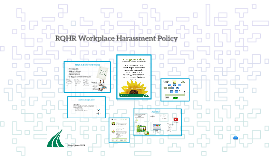 Updated RQHR Workplace Harassment Policy