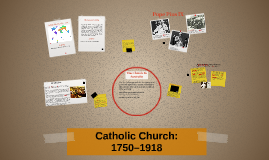 Catholic Church: 1750–1918