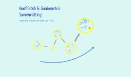 Samenvatting Hoofdstuk 6: Goniometrie