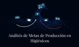 Análisis de Metas de Producción