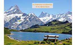 Le domaine continental et sa dynamique