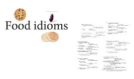 Idioms (food)