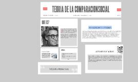 TEORIA DE LA COMPARACIONSOCIAL