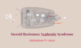 Steroid Resistance Nephrotic Syndrome