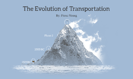 The Evolution of Transportation
