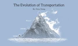 The Evolution of Transportation