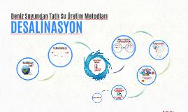 DESALİNASYON