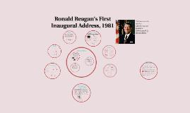 Ronald Reagan's First Inaugural Address