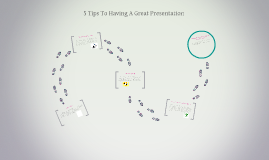 5 tips to presenting