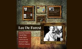 DE FOREST, Lee (1873-1961)