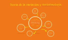 Teoria de la variacion y sociofonologia