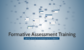 Formative Assessment Training