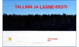 TALLINN JA LÄÄNE-EESTI