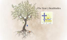 The Year 7 Beatitudes