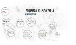 Module 3, Partie 2