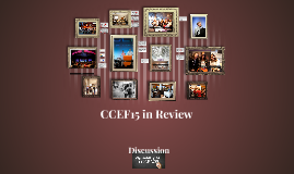 CCEF15 in Review