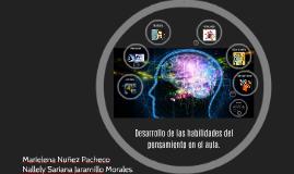 Copy of Desarrollo de las habilidades del pensamiento en el aula