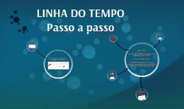 LINHA DO TEMPO - PPT