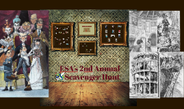 ESA's 2nd Annual Scavenger Hunt