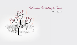 Salvation Accoding to Jesus
