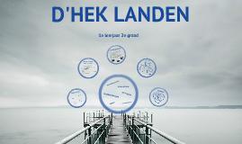 Infosessie D'Hek 3de jaars 2014-2015