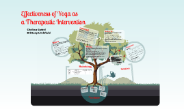 Effectiveness of Yoga as a Therapeutic Intervention