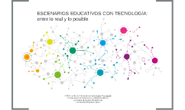 Copy of Escenarios Educativos con